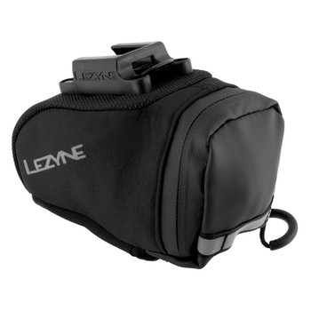 LEZYNE BAG LEZ WEDGE M-CADDY QR BLK