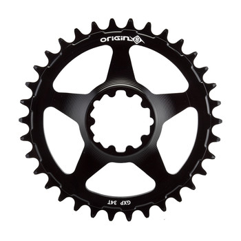 ORIGIN8 CHAINRING OR8 HOLDFAST DIRECT GXP 34T 10/11/12s BK