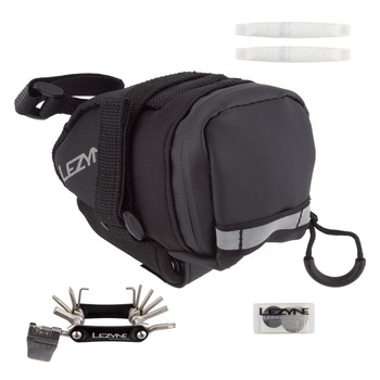 LEZYNE BAG LEZ WEDGE M-CADDY LOADED