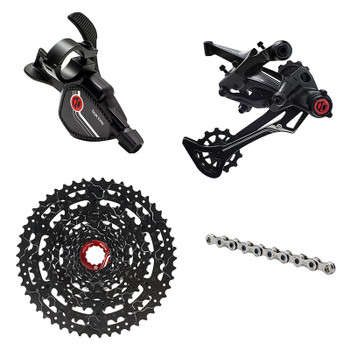 BOX COMPONENTS GROUP KIT BOX TWO PRIME 9 X-WIDE/MULTI RD/TRIGGER-SHIFTER/CHAIN/CASS 11-50