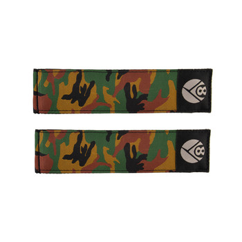 ORIGIN8 TOE STRAPS OR8 PRO GRIP II DBL CAMO JUNGLE