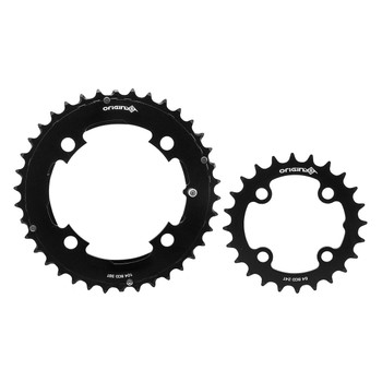 ORIGIN8 CHAINRING OR8 THRUSTER 64/104mm 24/38T 10/11s 4B SET BK