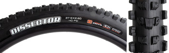 MAXXIS TIRE MAX DISSECTOR 27.5x2.6 BK FOLD/60 3CT/EXO/TR/WT