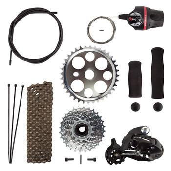 SUN BICYCLES TRIKE SUN E350 CONV KIT 7s DER