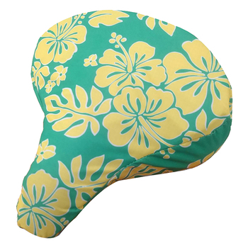CRUISER CANDY SEAT COVER C-CANDY HIBISCUS MINT/YL