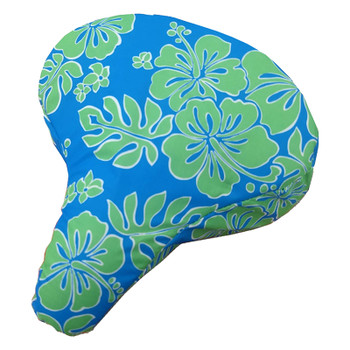 CRUISER CANDY SEAT COVER C-CANDY HIBISCUS BU/GN