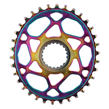 ABSOLUTEBLACK CHAINRING ABSOLUTEBLACK OVAL DIRECT SHI 34T OIL-SLICK