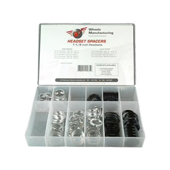 WHEELS MANUFACTURING HEAD PART WMFG SPACER ALY KIT 105pc BK