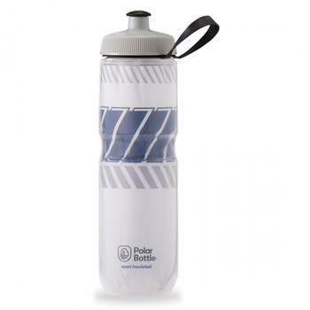 POLAR BOTTLE POLAR SPORT INSULATED 24oz TEMPO WH/NIGHT-NAVY