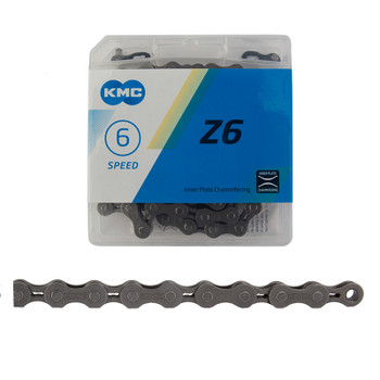 KMC CHAIN KMC Z6 INDEX 6s BN/GY 116L