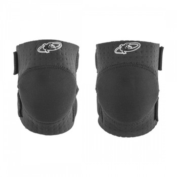 LIZARD SKINS CLOTHING LIZARD KNEE GUARDS SOFT YOUTH BLK