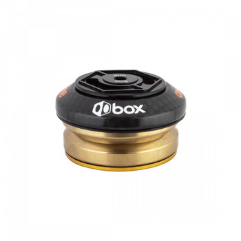 BOX COMPONENTS HEADSET BOX INT ONE CARBON 1-1/8 BK