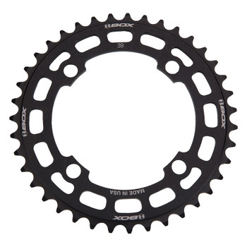 BOX COMPONENTS CHAINRING BOX TWO BMX 104mm 39T 4B BK