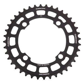 BOX COMPONENTS CHAINRING BOX TWO BMX 104mm 40T 4B BK
