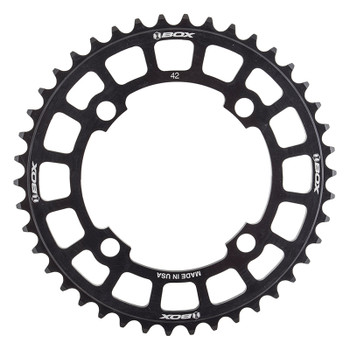 BOX COMPONENTS CHAINRING BOX TWO BMX 104mm 42T 4B BK