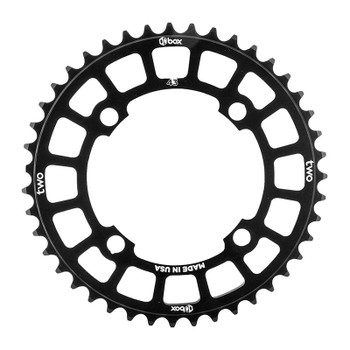 BOX COMPONENTS CHAINRING BOX TWO BMX 104mm 43T 4B BK