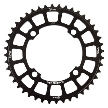 BOX COMPONENTS CHAINRING BOX TWO BMX 104mm 44T 4B BK