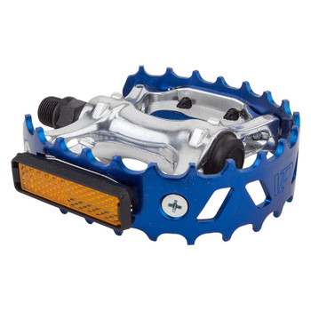 """BLACK OPS GUMMY RESIN CLEAR BLUE 1//2/"""" BICYCLE PEDALS"""