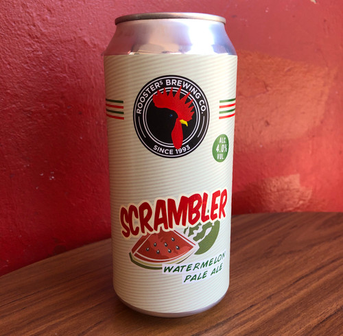 Rooster's Scrambler Watermelon Pale 4% 440ml can