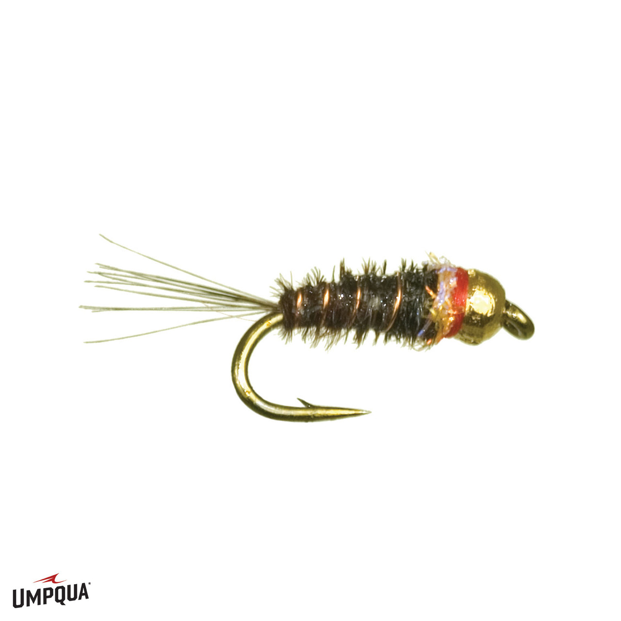 Umpqua Pheasant Tail Natural 2 Pack Nymph Fly Fishing Flies