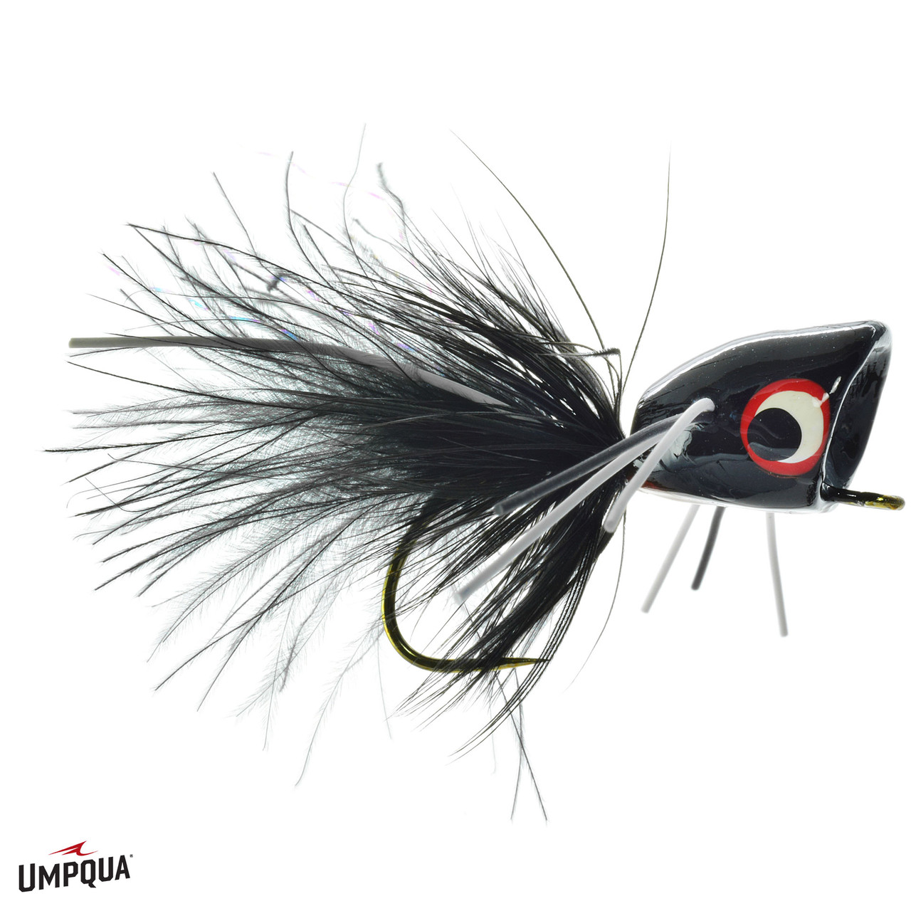 Umpqua Feather Merchants Bass Popper Mega Assorted Fly Fishing Kit 18 Piece