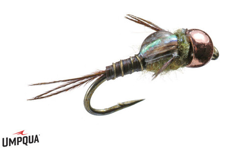 MICRO MAYFLY COPPER BEAD