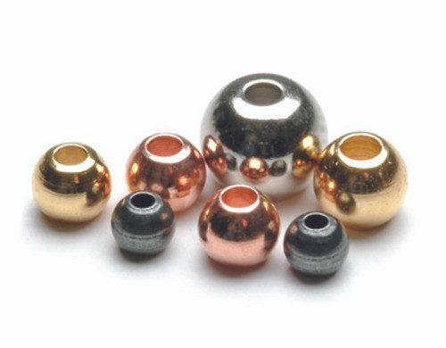 COUNTER-SUNK BRASS BEADS