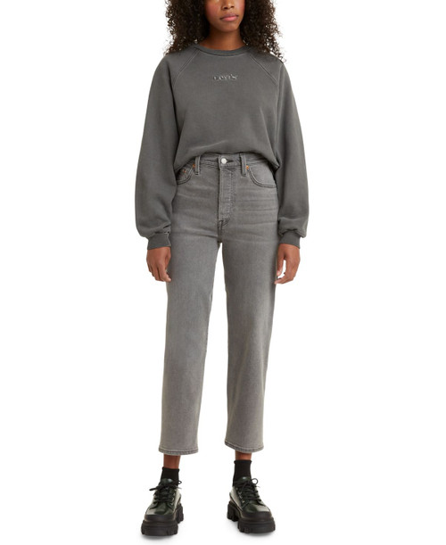 Levis Ribcage Straight Ankle Long Bottoms