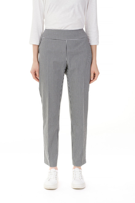 Charlie B Gingham Ankle Pant
