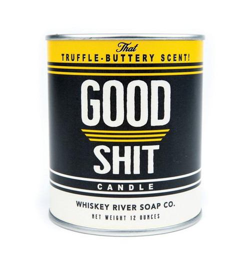 Whiskey River Soap Good Shit Candle
