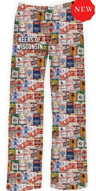 Brief Insanity Beers of Wisconsin Lounge Pants
