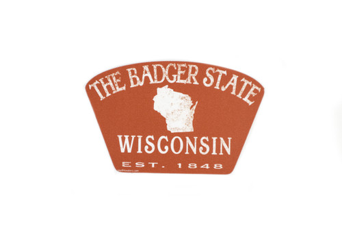 The Badger State Sticker