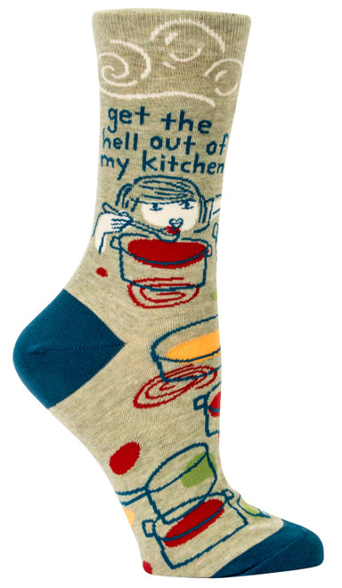 Get The Hell Out Women's Crew Sock