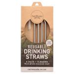 Reusable Metal Drinking Straws