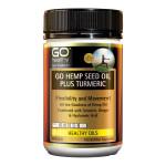 GO Hemp Seed Oil Plus Turmeric
