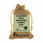 Coconut Milk Shampoo Bar - Avocado