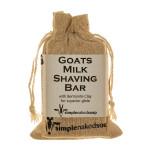 Goats Milk Shaving Bar - Bentonite Clay