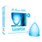 Menstrual Cup Aqua Blue