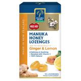 Manuka Honey Lozenges Ginger & Lemon
