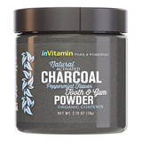 Natural Activated Charcoal Tooth & Gum Powder - Peppermint
