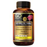 Go Krill Oil 750mg - Reflux Free