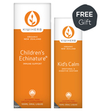 Children's Echinature and Kid's Calm Twin Pack