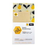 Beeswax Food Wraps - Kowhai Flower