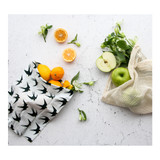 Organic Cotton Produce Bags - Bird