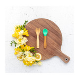 Bamboo Fork & Spoon Set