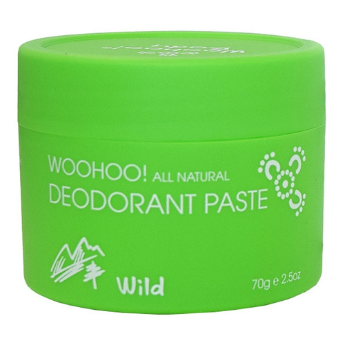 Deodorant Paste - Wild Extra Strength