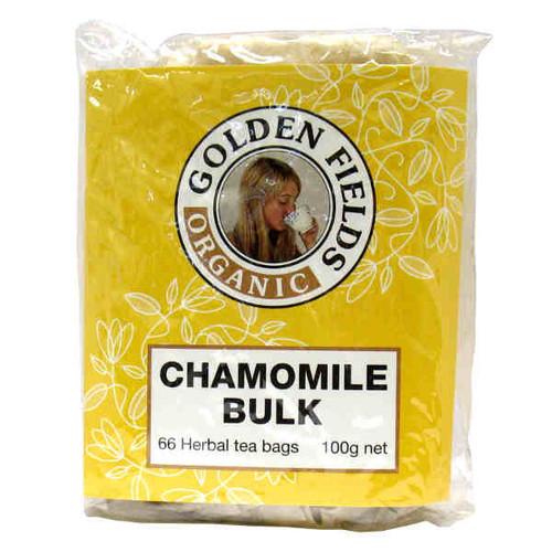 Certifed Organic Chamomile tea bags