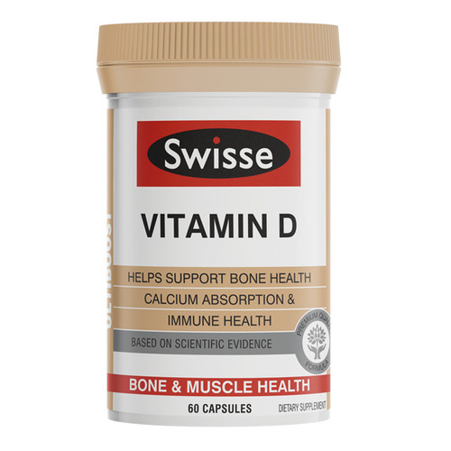 Vitamin D - Bone & Muscle Health