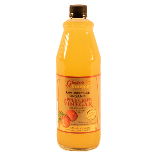 Certified Organic Raw Apple Cider Vinegar