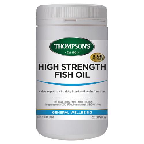 High Strength Fish Oil